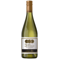 Винo Santa Rita Tres Medallas Chardonnay біле сухе 0,75л