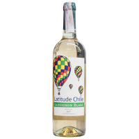 Вино Sauvignon Blanc біле сухе Latitude Чилі 0,75л