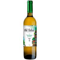 Вино Старый Тбилиси Цинандалі біле сухе 0,75л