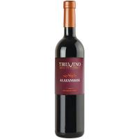 Вино Тбілвино Алазанське червоне напівсолодке 0,75л