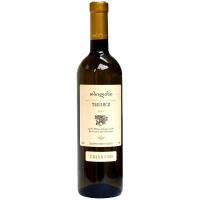 Вино TbilVino Тбілісі біле сухе 0.75л