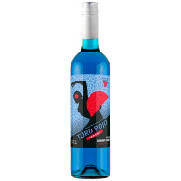 Вино ТМ  Toro Rojo Bodegas блакитне напівсухе Іспанія 0,75