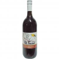 Винo El Tucan dry червоне сухе 1,5л