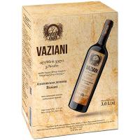 Вино Vaziani Алазанська долина н/солодке червоне 3л