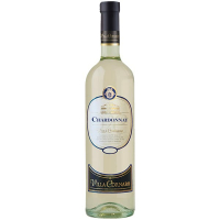 Вино Villa Cornaro Chardonnay біле сухе 0,75л