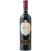 Вино Villa Cornaro Merlot червоне сухе 0,75л