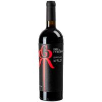 Вино Вина Гулієвих Мерло червоне сухе 0,75л