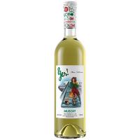 Вино Yes! Мускат біле напівсолодке 0,75л