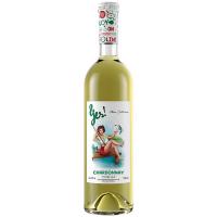 Вино Yes! Шардоне біле сухе 0,75л
