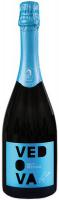 Вино ігристе Vedova Spumante Brut Bianco Cuveé біле сухе 0,75 11%