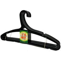 Вішалка Еталон-С д/одягу Радуга чорна 5шт. арт.ВО-08
