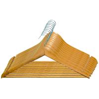 Вішалка МД дерев`яна з поперечиною 10шт Art.RE05210