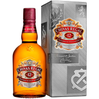 Віскі Chivas Regal 12років 40% 0,5л
