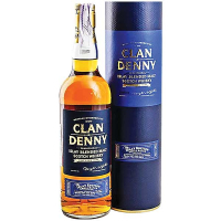 Віскі Clan Denny Islay Blended Malt 40% в тубусе 0,7л