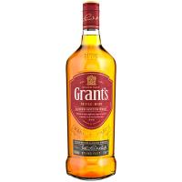 Віскі Grants 40% 1л