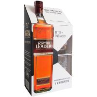 Віскі Scottish Leader Original 40% 0,7л +2 стакана