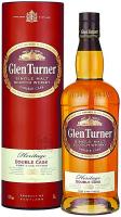 Віскі Glen Turner Heritage Double Cask 40% 0,7л в тубусі