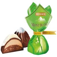 ВК Цукерки Roshen Монблан крем-праліне+дріб.гор ваг/кг