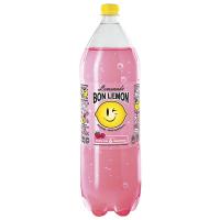 Вода Бон Буассон зі смаком Лимон-Малина 2л