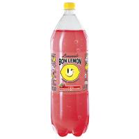 Вода Bon Lemon Лимонад зі смаком полуниці-базилік 2л
