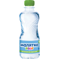 Вода Малятко негазована 0,33л