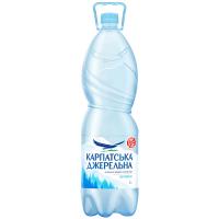 Вода мінеральна Карпатська джерельна негазована 2л