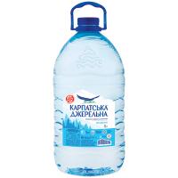 Вода мінеральна Карпатська джерельна негазована 6л