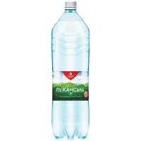 Вода мінеральна Лужанська-15 сильногазована 1,5л