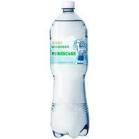 Вода мінеральна Лужанська-4 пет 1,5л