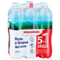 Вода мінеральна Моршинська н/г 1,5л 5+1 ПЕТ