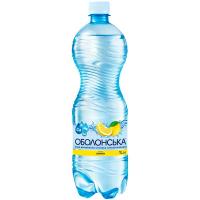 Вода мінеральна Оболонь Лимон 1л