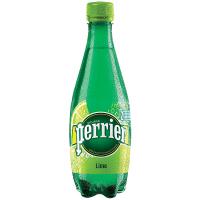 Вода мінеральна Perrier зі смаком лайму 0,5л