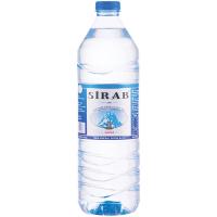 Вода мінеральна Sirab негазована 1,5л