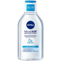 Вода міцелярна MicellAIR Дихання шкіри д/норм. та комб. 0,4л