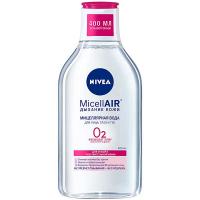 Вода міцелярна MicellAIR Дихання шкіри д/сух та чутл шк.0,4л