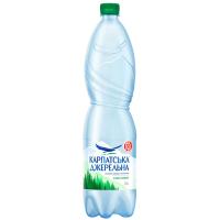 Вода мінеральна Карпатська джерельна слаб/газ 1,5л