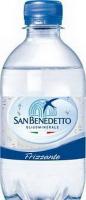 Вода San Benedetto мінеральна газована 0.33л