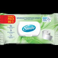 Вологий туалетний папір Smile 80шт