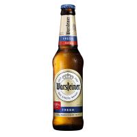 Пиво Warsteiner б/а с/б 0,33л