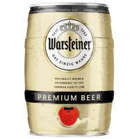 Пиво Warsteiner 5л ж/б