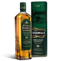Віскі Bushmills Single Malt 40% 0,7л в тубусі х2
