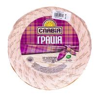 Сир ММ Грація 20% Славія ваговий/кг.