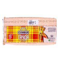 Сир ММ Гауда 45% Славія брус ваговий/кг