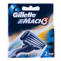 Касети змінні Gillette Mach3 2шт.