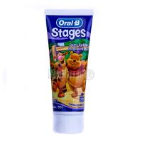 Зубна паста Oral-B Stages дитяча 75мл х6