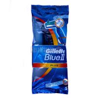 Бритва Gillette Blue II Plus одноразовий 5шт.