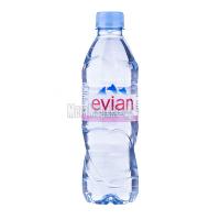 Вода мінеральна Evian н/г 0,5л