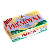 Масло President кисловершкове солоне 80% 200г х6