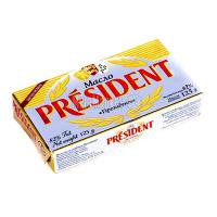 Масло President кисловершкове несолоне 82% 125г