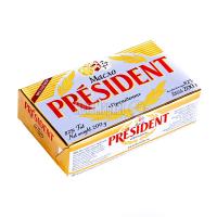 Масло President вершкове экстра 82% 200г х40